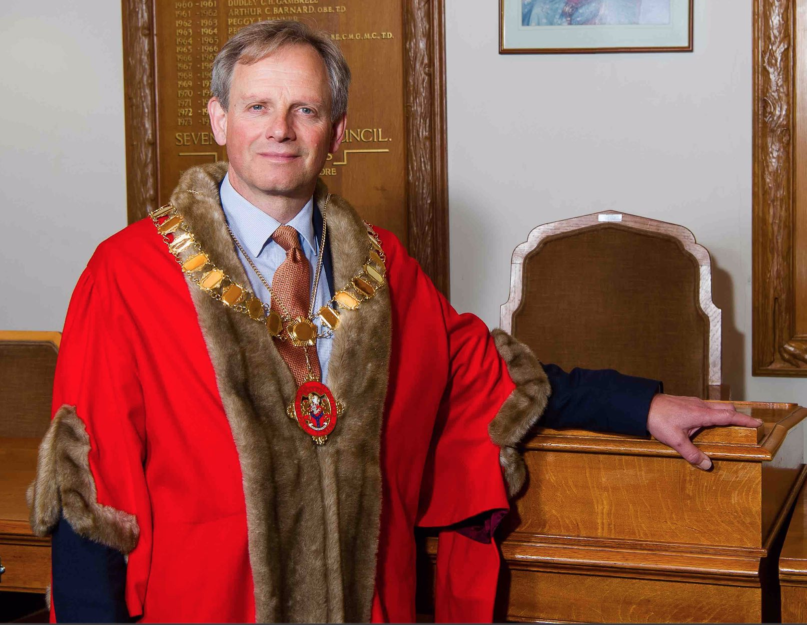 Cllr Nicholas Busvine elected as Mayor of Sevenoaks