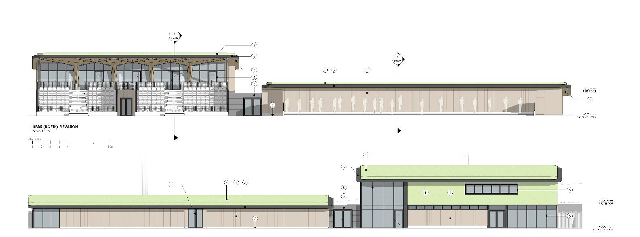 PRESS RELEASE Sevenoaks Town Council offers its support to Sevenoaks Town Football Club for its ambitious new Pavilion proposals